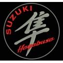 Parche Bordado SUZUKI HAYABUSA (Color PLATA)