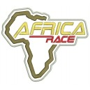 Parche Bordado AFRICA RACE (Fondo BLANCO)