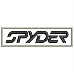 Parche Bordado SPYDER (Letras)