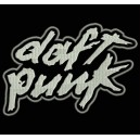 Parche Bordado DAFT PUNK (Color BLANCO)