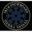 Parche Bordado SKI & SNOWBOARD (SIERRA NEVADA)