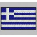 Parche Bordado Bandera GRECIA