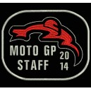 Parche Bordado MOTO GP 2014 (STAFF)