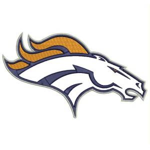 Parche Bordado DENVER BRONCOS Logo (NFL)