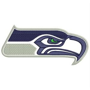 Parche Bordado SEATTLE SEAHAWKS Logo (NFL)
