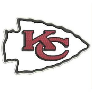 Parche Bordado KANSAS CITY CHIEFS Logo (NFL)