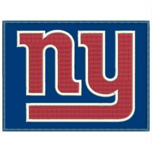 Parche Bordado NEW YORK GIANTS Logo (NFL)