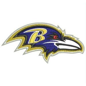 Parche Bordado BALTIMORE RAVENS Logo (NFL)