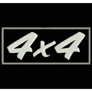 "Parche Bordado ""4x4"""