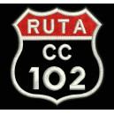 Parche Bordado RUTA (2 Líneas)