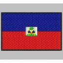 Parche Bordado Bandera HAITI