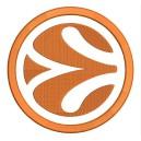 Parche Bordado Logo EUROBASKET (Fondo BLANCO)