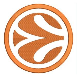 Parche Bordado Logo EUROBASKET (Euroleague Basketball)