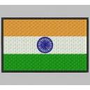 Parche Bordado Bandera INDIA