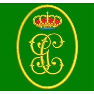 Parche Bordado GUARDIA CIVIL (Escudo)