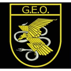 Parche Bordado GEO (Grupo Especial de Operaciones)