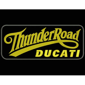 Parche Bordado THUNDER ROAD DUCATI