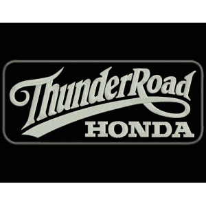 Parche Bordado THUNDER ROAD HONDA