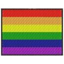 Parche Bordado Bandera GAY (LGTB)