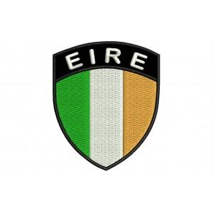 Parche Bordado Bandera IRLANDA (Escudo 7 x 6 cm)