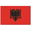 Parche Bordado Bandera ALBANIA