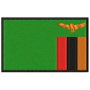 Parche Bordado Bandera ZAMBIA