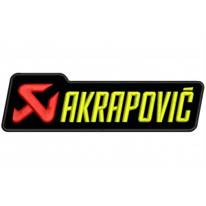 Parche Bordado AKRAPOVIC