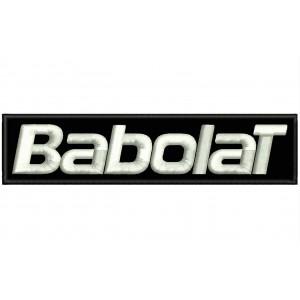 Parche Bordado BABOLAT (Letras)