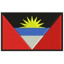 Parche Bordado Bandera ANTIGUA y BARBUDA