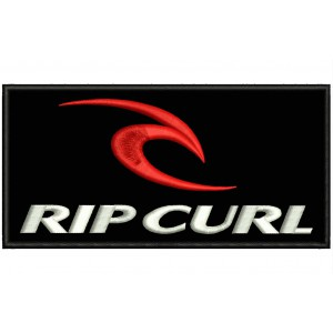 Parche Bordado RIP CURL (Logo)