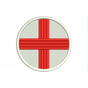 Parche Bordado Bandera INGLATERRA (Circular)
