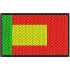 Parche Bordado Bandera IBERIA (España y Portugal)