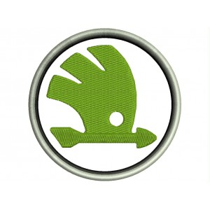 Parche Bordado SKODA (Logo)